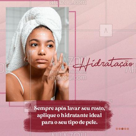 E aí, você adota esses 3 cuidados diariamente na sua rotina? ? Conta aqui pra gente! ?? #cuidados #esteticafacial #AhazouBeauty  #limpezadepele #saúde #beleza #bemestar