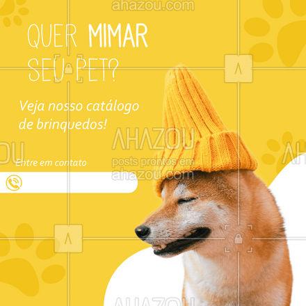 Quer presentear seu pet? Então é só fazer o seu pedido que rapidamente levaremos até você! #AhazouPet  #delivery #petshop #petshoponline