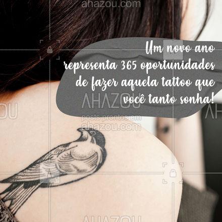 E aí, qual vai ser a primeira tattoo que você vai lançar esse ano? ? #anonovo #2021 #AhazouInk #tattoo #tatuagem