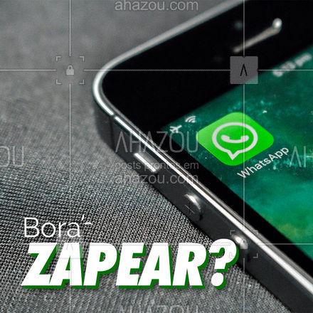 Esse é o nosso contato do Whatsapp, fique a vontade para nos chamar sempre que precisar! #Contato #ahazou #Whatsapp
