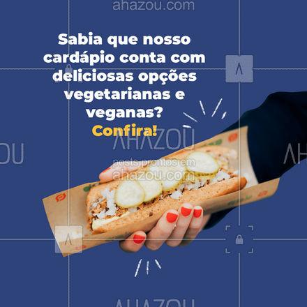 Experimente todas e escolha sua favorita! #ahazoutaste #hotdog #hotdoglovers #hotdoggourmet #cachorroquente #vegetariano #fit #vegan #veggie #ahazoutaste #ahazoutaste