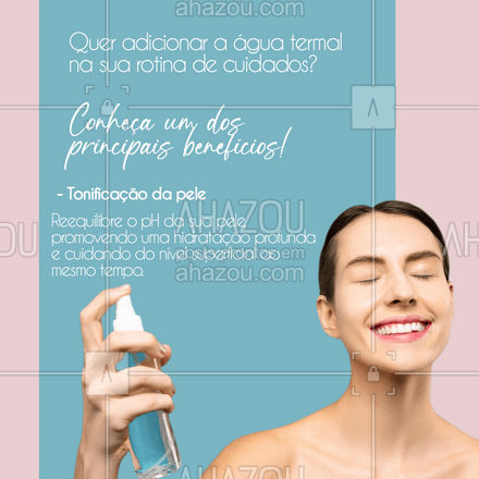 Lembrando que o tônico sempre vai após a limpeza profunda, para ajudar a reconstruir as defesas naturais da pele!  #colorahz #AhazouBeauty #bemestar #esteticafacial #limpezadepele #peeling #skincare #saúde #beleza