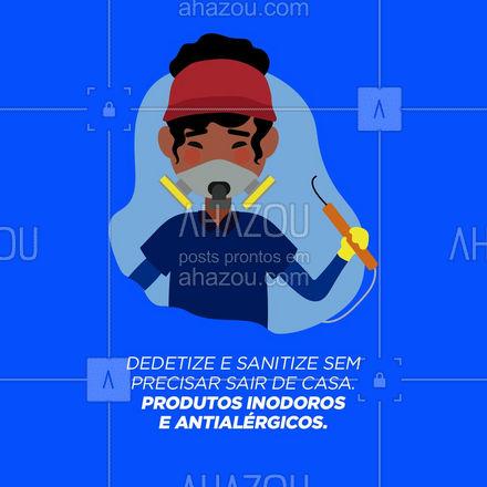 Agora ficou fácil dedetizar sua casa. Entre em contato para mais informações! #AhazouServiços #dedetizacao #dedetizacasa