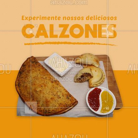 Aqui fazemos nossas massas com muito amor, garantindo um prato saboroso e de qualidade, venha experimentar! ? #calzones  #ahazoutaste  #italianfood  #massas #comidaitaliana