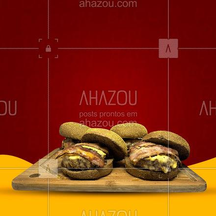 Celebre o dia dessa maravilha com a gente, peça já o seu burger! #DiaInternacionaldoBacon #promoção #ahazoutaste #bacon #burger #hamburgueriaartesanal