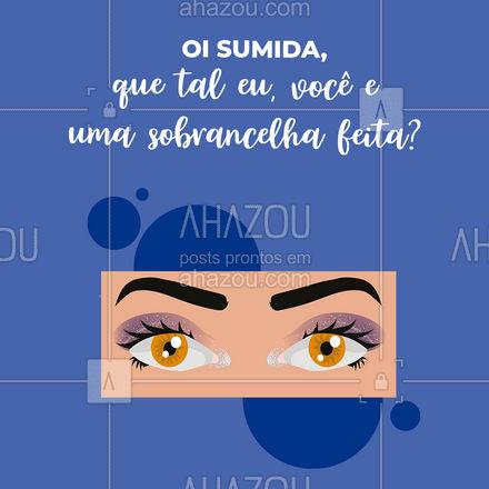 Imagina só, já quero esse rolê! ? Aproveita e marca seu horário. #estetica #beauty #beleza #saudade #sumida #AhazouBeauty
