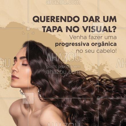 Trabalhamos com progressiva orgânica usando produtos de extrema qualidade! Marque seu horário! #AhazouBeauty #cabeloperfeito  #hair  #hairstylist  #hidratacao   #cabeleireiro  #salaodebeleza  #cabelo
