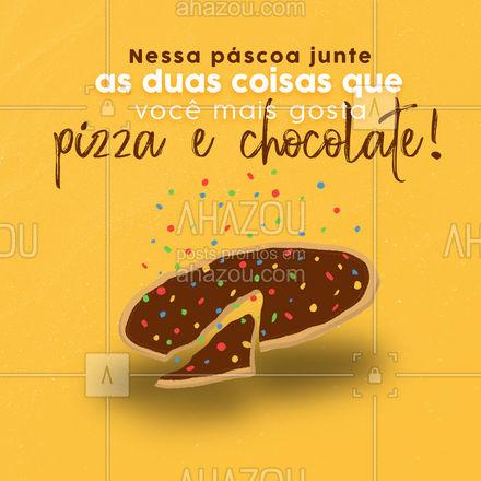 Para sua páscoa ficar ainda mais gostosa peça uma de nossas deliciosas pizzas doces. Confira o nosso cardápio! #pizzaria #pizza #pizzalife #pizzalovers #eat #ilovefood #instafood #foodlovers #pascoa #ahazoutaste