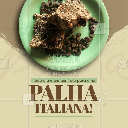 Encomende agora mesmo o seu docinho! 😋 #palhaitaliana #ahazoutaste  #confeitaria  #doces  #confeitariaartesanal  #docinhos