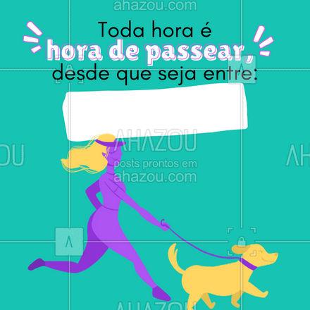 E aí, vamos agendar o passeio do seu amigão? ?? #passeio #dogwalker #AhazouPet  #dogwalk #doglover #dogwalkersofinstagram