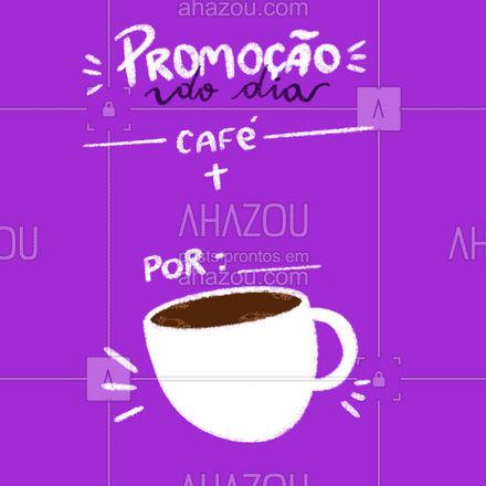 O combo mais clássico e queridinho por um preço especial!  #ahazoutaste  #cafeteria #café #coffee #barista #coffeelife