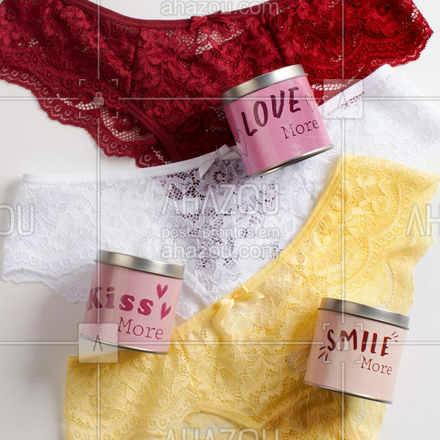 E então, qual o seu desejo para 2021? ✨ . Calcinha Fio Dental Fim De Ano Kiss Me - Latinha Desejo  ref.501703 . #liebelingerie #lingerie #calcinha #calcinhadesejo #finaldeano #anonovo #ahazouliebe #ahazourevenda