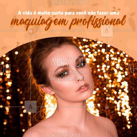 Vai a algum evento e precisa estar ainda mais maravilhosa? Entre em contato e agende o seu horário para fazer uma maquiagem profissional! #maquiagem #maquiador #skin #maquiadora #make #beleza #pele #rosto #AhazouBeauty