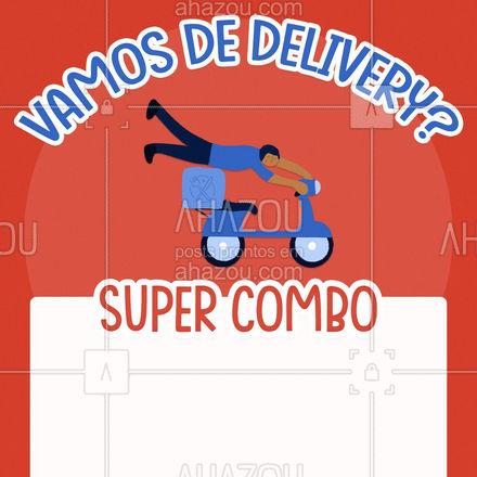 O melhor combo que você vai ver hoje! Peça pelo delivery! ? #ahazoutaste  #gastronomy #instafood #foodie #gastronomia #foodlover #culinaria #pedido #online #delivery #combo #supercombo