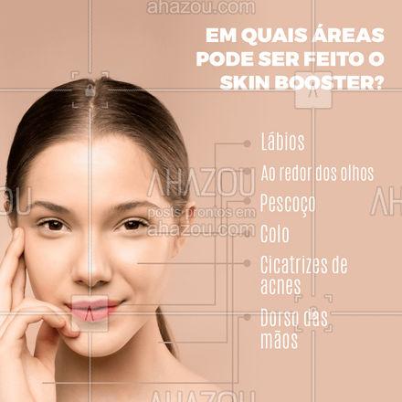 Melhore a aparência da sua pele e promova uma hidratação intensa já na primeira sessão! #AhazouBeauty  #bemestar #esteticafacial #limpezadepele #skincare #saúde #beleza #skinbooster