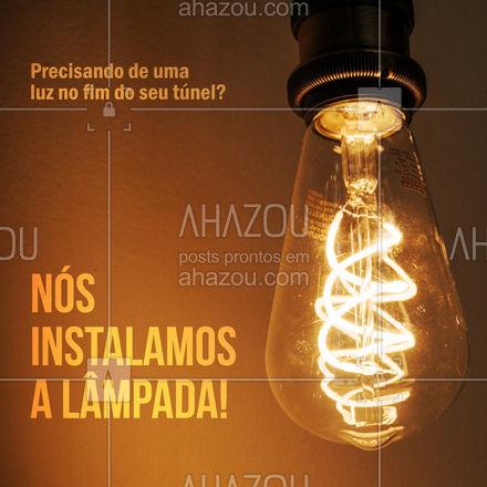 Fazemos instalações de sistema de iluminação em geral. Entre em contato e solicite seu orçamento. #eletrica #serviços #instalaçao #AhazouServiços #Iluminaçao #eletricista #led #luzdeled