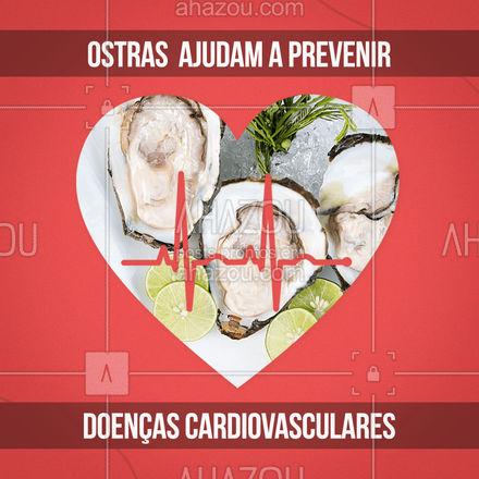 As ostras além de saborosas são ricas em zinco, ômega-3 e proteínas, o que pode ajudar a prevenir doenças cardiovasculares. 🦪 #ahazoutaste #foodlovers #camarao #peixes #pescados #frutosdomar #beneficios
