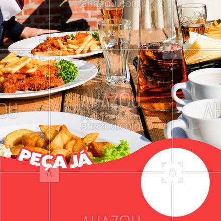 Um bom prato tem que vir acompanhado de uma boa bebida, peça agora o seu! ? #ahazoutaste #restaurante #alacarte #foodlovers #selfservice #promocao