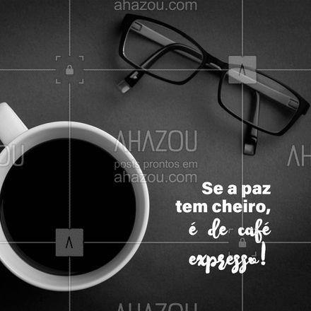 Tire um tempo para você relaxar e sentir paz no cheirinho de café expresso ☕! Entre em contato e peça o seu! #cafeteria #café #coffee #ahazoutaste #barista #coffeelife #cafeexpresso #delivery