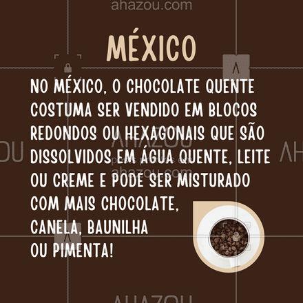 O chocolate quente é uma caixinha de surpresas! E uma das bem deliciosas, por sinal! ?☕?#chocolatequente #carrosselahz #ahazoutaste  #café #coffee #barista #coffeelife