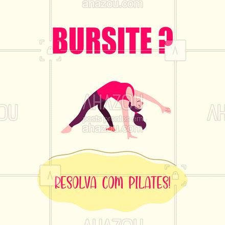 O Pilates ajuda a lubrificar as articulações, diminuindo o impacto e a rigidez, proporcionando, com isso, melhores movimentos e alivia as dores articulares e musculares! Quer saber mais? Entre em contato! (xx) xxxx-xxxx  #AhazouSaude  #pilatesbody #pilates #fitness #bursite #pilateslovers