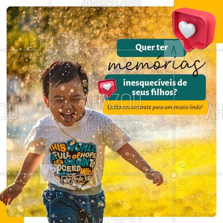 As memórias mais lindas dos seus filhos registradas para o resto da vida. ❤️ Venha já nos contratar para um ensaio maravilhoso. ? #ahazoufotografia #fotografia #photo #photography #ahazoufotografia