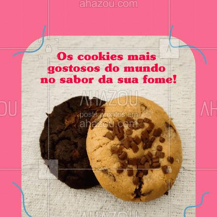 Escolha o seu cookie e torne o seu dia mais feliz! ? #cookies #biscoitos #ahazoutaste  #bakery  #confeitaria