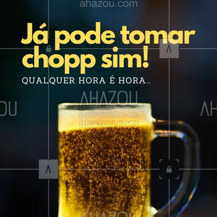O que você está esperando? Já estamos abertos! Venha tomar o melhor chopp que você já viu! #ahazoutaste  #bar #pub