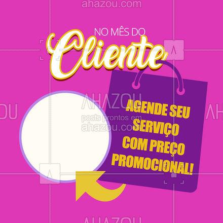 Confira nossa disponibilidade e aproveite as ofertas!  #ahazou #mesdocliente  #semanadocliente  #diadocliente #promoção #descontos #oferta