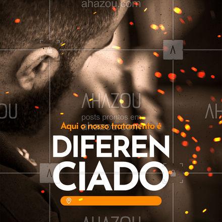 Precisando de um toque diferenciado no visu? Venha nos visitar! ? #AhazouBeauty #barberLife  #barbeirosbrasil  #barbeiro  #barberShop  #barbearia  #barba