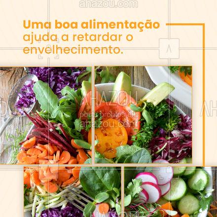 Uma boa alimentação está ligada diretamente ao bem-estar e qualidade de vida. Comer bem ajuda a evitar doenças e pode aumentar a expectativa de vida. Combine uma boa alimentação com exercícios regulares e leve uma vida mais saudável. ?? #ahazoutaste #vegetariano #verduras #frutas #saude #cuidadocomcorpo  #fit
