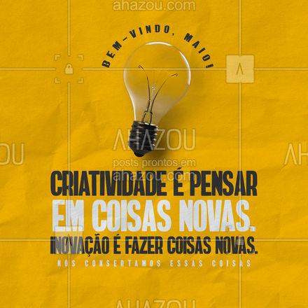 Cada um tem sua parte no processo! ? #maio #bemvindomaio #assistencia #AhazouTec   #tecnologia #inovacao #AssistenciaTecnica