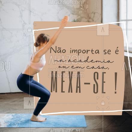 Não espere as academias abrirem para você começar a se exercitar!???✨ #personaltrainer #AhazouSaude #treino #boratreinar #frasemotivacional #AhazouSaude