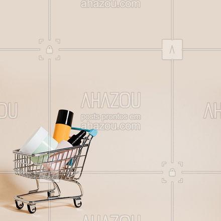 Chega de dificuldade para encontrar seus produtos favoritos, conte comigo para ajudá-la. 🛒 #AhazouRevenda #prontaentrega #revendadeprodutos #catalogo #revendedoras #consultoradebeleza #marcas