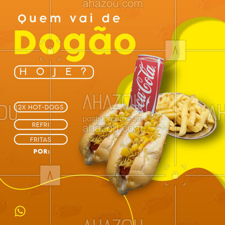 E ai, tá esperando o que para pedir o seu?  Hoje o gerente tá demais, perdeu o controle! Então pede logo o seu, antes que acabe!  Chama no whats! ??  #ahazoutaste #hotdogs #cachorroquente #hot-dog  #hotdoggourmet #food #hotdoglovers #hotdog #combo #food #delivery #combodanoite