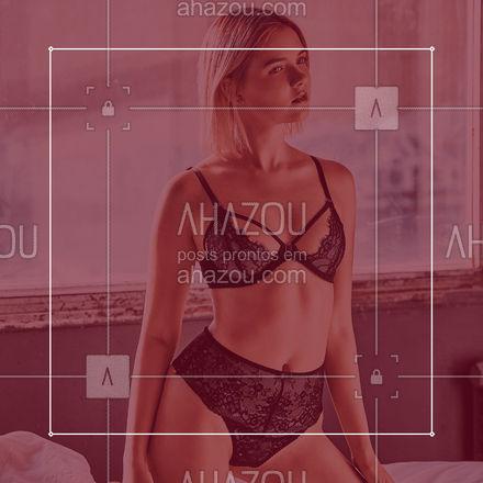Prazer em se sentir bem! Encontre a lingerie que você procura aqui! #AhazouFashion  #lookdodia #modafeminina #fashionista #fashion #moda #OOTD #lingerienova #lingerie #opções #venhaconferir