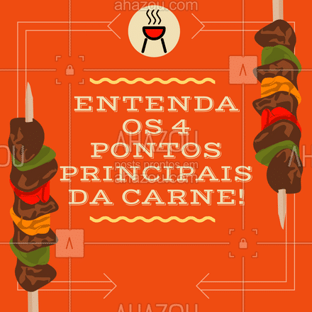 Salva o post e quando você for cozinhar ? para a galera, vai ter uma colinha de como chegar no ponto ideal ?! #churrasco #ahazoutaste #carrosselahz #bbq #açougue #churrascoterapia #meatlover #cozinheiros #PontodaCarne #ahazoutaste
