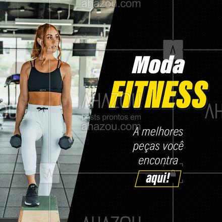 Venha conhecer nossa coleção de roupas fitness! Peças que são sucesso dentro e fora da academia! Venha conhecer. #modafitness #colecaofit #fit  #AhazouFashion  #moda #outfit #fashion