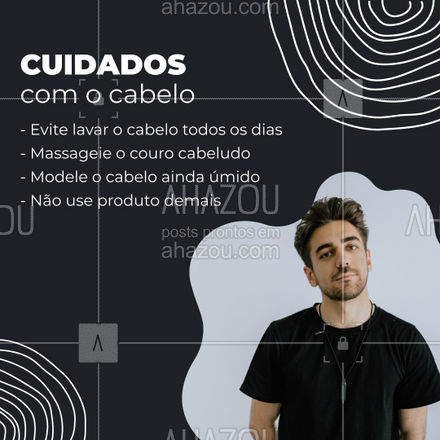 Dicas anotadas para ter um cabelo perfeito?   #AhazouBeauty #barbeiro  #barbeirosbrasil  #barberShop  #barbearia #cabelo #dicas #cuidados
