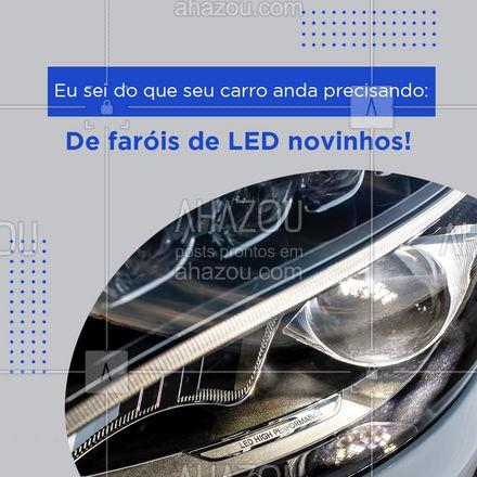 E aí, vamos dar um UP no seu amigo? ???  #faroldeled #automotivo #AhazouAuto  #eletricaautomotiva #servicoautomotivo #eletricadecarros