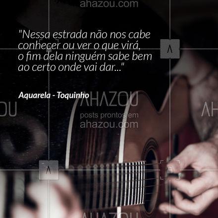 E aí, você gosta desse clássico da MPB? Conte para nós nos comentários! 😁 #aquarela #toquinho #mpb  #AhazouEdu  #aprendamúsica  #música  #instrumentos  #aulademusica