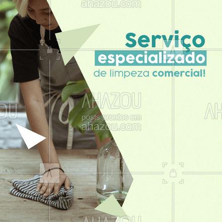 Limpeza comercial de qualidade com produtos específicos para o ambiente comercial. Serviço de qualidade e satisfação garantida! #AhazouServiços #limpeza #faxina #faxinacorporativa #limpezapesada
