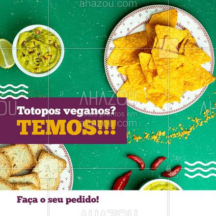 Você ainda pode escolher o acompanhamento perfeito para a sua porção de totopos! ? #totopos #cozinhamexicana #ahazoutaste  #comidamexicana #vivamexico #texmex