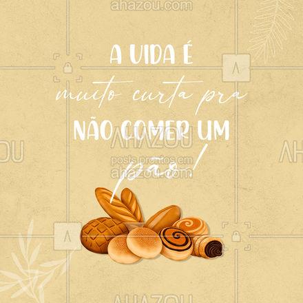 Não deixa para amanhã o pãozinho que você pode comer hoje! #ahazoutaste #pãoquentinho #bakery #panificadora #padaria