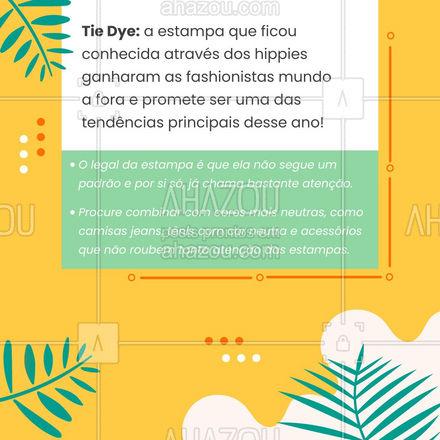 E ai, você usa alguma dessas tendências ?? Já tem sua preferida? Comenta aqui em baixo ⬇️ com a gente! #lookdodia #AhazouFashion #carrosselahz #fashionista #fashion #vichy #tiedye #mulet #MangaBufante #AhazouFashion
