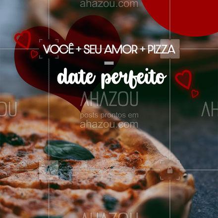 Nada melhor que passar esse dia dos namorados com quem você ama e acompanhados de uma maravilhosa pizza! Entre em contato e faça já o seu pedido! #pizzaria #pizza #pizzalife #ahazoutaste #pizzalovers #felizdiadosnamorados #diadosnamorados #namorados