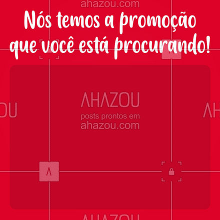 Chega de ficar procurando por promoção, nós temos o que você precisa! ? #ahazoutaste   #gastronomia #culinaria #promocao #instafood #foodie #foodlover