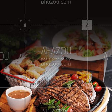 Aqui nós preparamos os melhores pratos para você degustar o melhor da vida, aproveite! ? #ahazoutaste  #restaurante #alacarte #foodlovers #selfservice