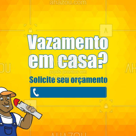 Eu resolvo isso! Entre em contato!?  #AhazouServiços #cacavazamento #vazamento #encanador #solicite #agua #servicos #casa