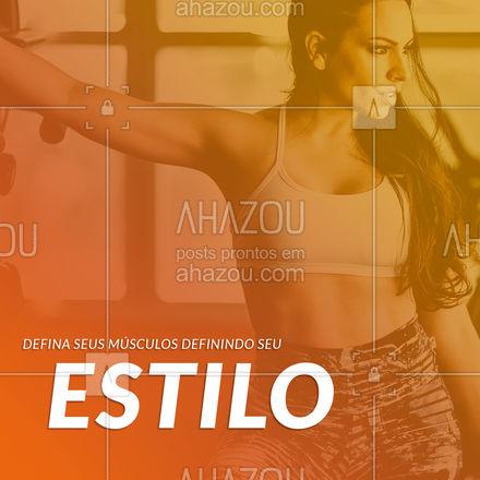 Quer definir o corpo, sem perder o estilo? Aqui você encontra a roupa que vai te ajudar a definir os dois. #AhazouFashion #estilo #definição #acadêmia